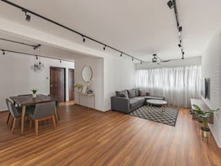 Living room by VOILÀ Pte Ltd