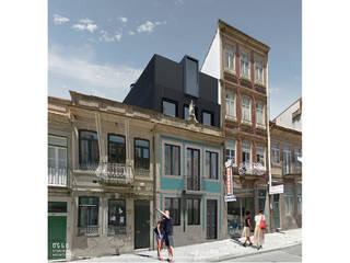 Reabilitação de edifício antigo - Portinho residence por OGGOstudioarchitects, unipessoal lda Moderno