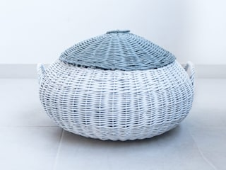Revì Art - Upcycling Furniture Design Living roomStorage Rotan/Anyaman White
