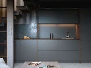 Kitchen by ANARCHY DESIGN, Minimalist