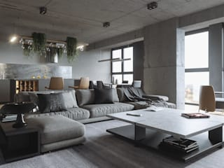 Living room by ANARCHY DESIGN, Minimalist