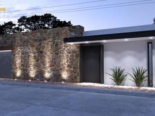 Remodelación de fachada Rio Fuerte:  de estilo  por GAX Estudio de Arquitectura