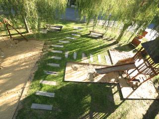 Garten von ARQCONS Arquitectura & Construcción, Modern