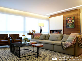 modern Living room by Tania Bertolucci  de Souza  |  Arquitetos Associados