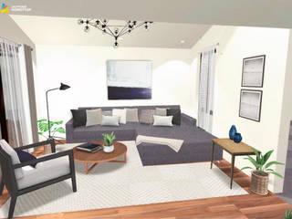 Sala de estar: Salas de estilo ecléctico por Gaby Cons Deco & Handmade