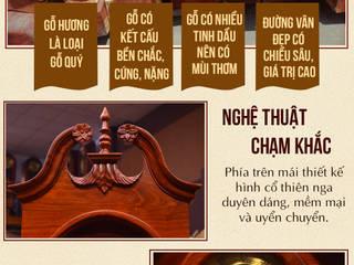 Nghệ thuật chạm khắc tinh tế:   by Cửa hàng bán đồng hồ cây gỗ cao cấp ở Hà Nội