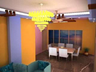 RPS Savana:  Dining room by Saraswati Interior