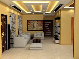 Sare Homes Classic style living room by Saraswati Interior Classic