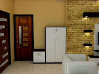 Sare Homes Classic style corridor, hallway and stairs by Saraswati Interior Classic