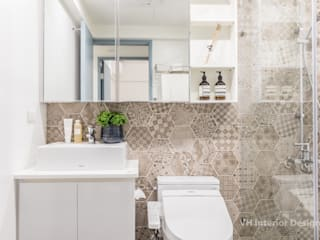 Moderne Badezimmer von VH INTERIOR DESIGN Modern