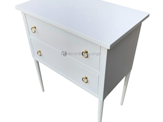 Decordesign Interiores BedroomBedside tables Wood White
