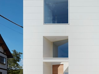 藤原・室 建築設計事務所 Wooden houses White