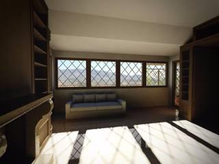 Ombre e luci Soggiorno classico di Mostarda Design Classico