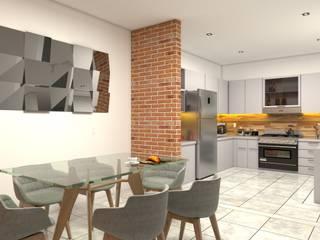 Casa para venta Comedores mediterráneos de Vintark arquitectura Mediterráneo