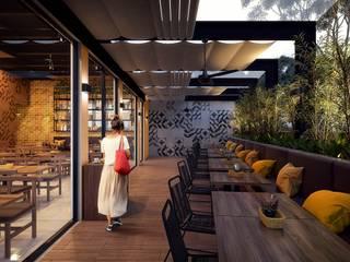 Terraza: Restaurantes de estilo  por SRA arquitectos