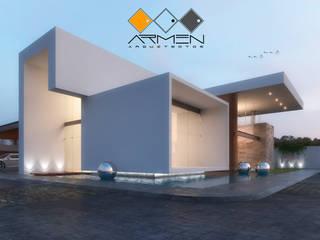 Casa i-m: Casas de estilo  por ARMEN Arquitectos
