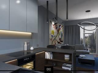 Dom pod Warszawą: styl , w kategorii Kuchnia zaprojektowany przez DCODE Emilia Krysińska,