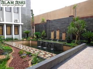Jasa Pembuat Kolam Koi Surabaya Alam Asri Landscape Interior landscaping Batu Bata Blue