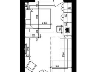 Simple Lines: Гостиная в . Автор – IN MY BOX | дизайн интерьера | Екатеринбург
