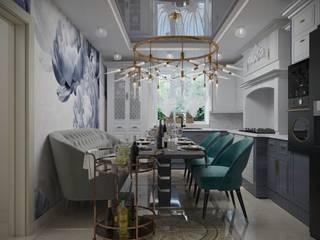 Арт деко в частном доме: Кухни в . Автор – ХаТа - design