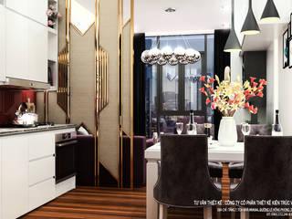 THIẾT KẾ NỘI THẤT MẪU ĐIỂN HÌNH . TÒA NHÀ CĂN HỘ CAO CẤP CHO THUÊ APARTMENTS 18 TẦNG . HẢI PHÒNG:   by công ty cổ phần Thiết kế Kiến trúc Việt Xanh