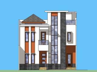 Tampak Depan:   by Amirul Design & Build