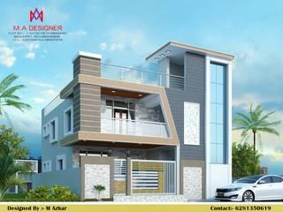 Casas de estilo asiático de M.A Constructions Asiático