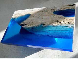 Handmade Wood Table Art : modern  by Classy Interno,Modern