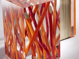 Wood Stool Art: modern  by Classy Interno,Modern