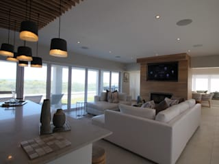 DS Project Modern living room by Audio Visual Projects (PTY) Ltd Modern