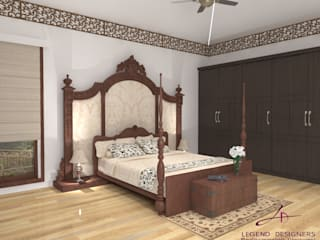 Domestic Design Ideas Modern style bedroom by Interio Grafiek Modern