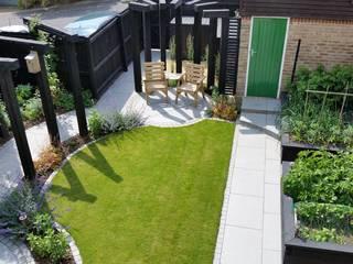 Garden Design Bracknell, Berkshire Linsey Evans Garden Design Jardines de estilo moderno Granito Azul