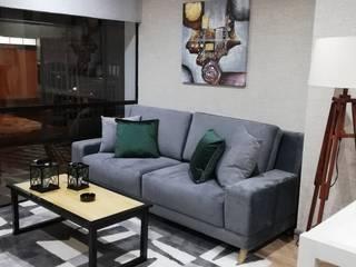 Capital Loft 103:  de estilo  por Mireya Pinilla Interior Design