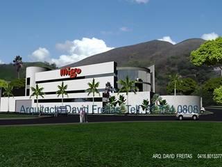 Centro comercial por David Freitas Arquitecto