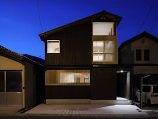 Rustic style house by 芦田成人建築設計事務所 Rustic