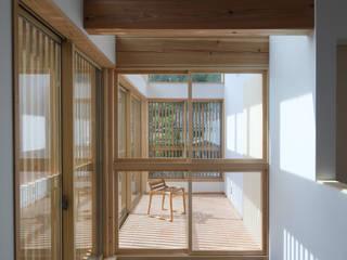 サンルーム ラスティックスタイルの 温室 の 芦田成人建築設計事務所 ラスティック