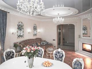 Гостиная в частном доме:  в . Автор – Андреевы.РФ