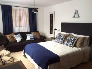 Habitación auxiliar: Habitaciones de estilo  por Nancy Trejos