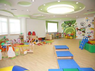 ÖZEL SANKO OKULLARI Modern Çocuk Odası HAKAN SABAHLAR MİMARLIK &HSA YAPI Modern