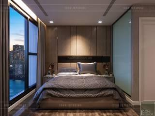 Chambre de style  par ICON INTERIOR, Moderne