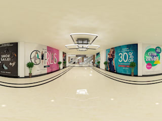 Entrance of the mall:  Shopping Centres by VRDreamz