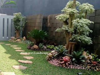 Alam Asri Landscape Rock Garden Wood Green