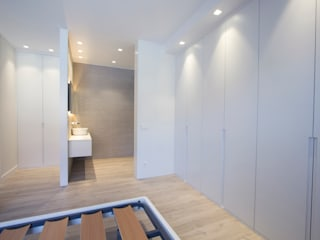 ห้องนอน by Bocetto Interiorismo y Construcción