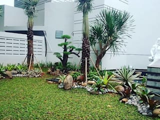 Alam Asri Landscape:  tarz Ön avlu, Minimalist