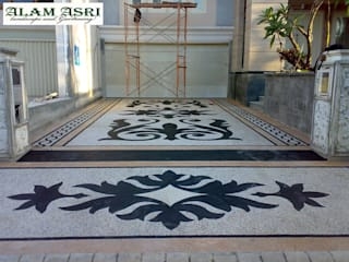 Alam Asri Landscape Floors Stone Multicolored