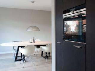 Verbouwing familiewoning Den Haag:  Keuken door Atelier Perspective Interieurarchitectuur
