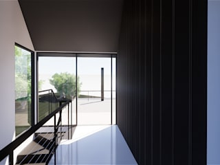 MASR | Estudio de arquitectura의  복도 & 현관