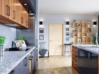 Postaw na nowoczesność: styl , w kategorii Kuchnia zaprojektowany przez GLOBALO MAX