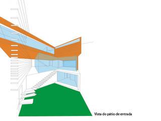 Estudo Prévio para habitação unifamiliar em Aveiro.:   por Triplinfinito arquitetura, design e vídeo Lda
