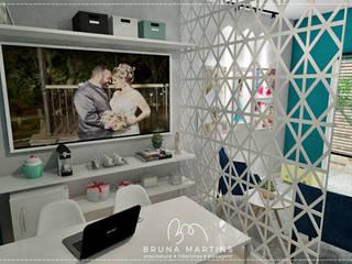 REFORMA ESTÚDIO DE FOTO Espaços comerciais modernos por BRUNA MARTINS Arquitetura + Interiores Moderno